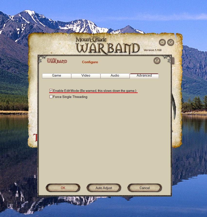 Mount And Blade Warband Лаунчер Скачать